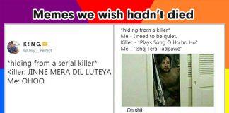 hiding from serial killer