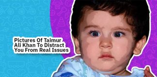 Pictures of Taimur Ali Khan To Distract You From Real Issues