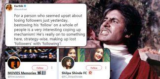 Amitabh Bachchan on Twitter