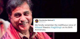 Jagjit Singh's birth anniversary