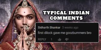 Typical Indian Comments