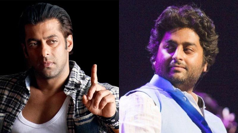 Salman Khan and Arijit Singh