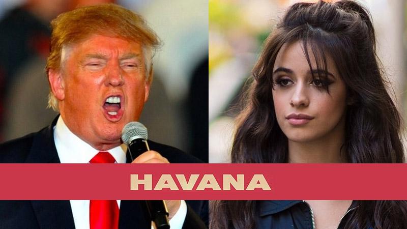 Donald Trump singing Havana