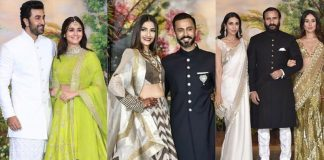 Sonam Kapoor wedding outfit pictures