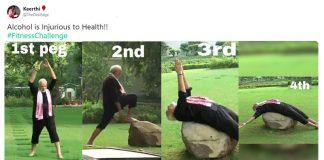 Narendra Modi's Fitness Challenge memes