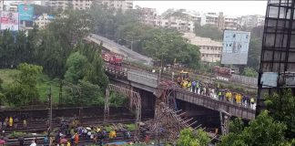 Andheri railway bridge collapsed