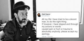 Rajat Kapoor sexual misconduct