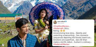Kedarnath Movie review