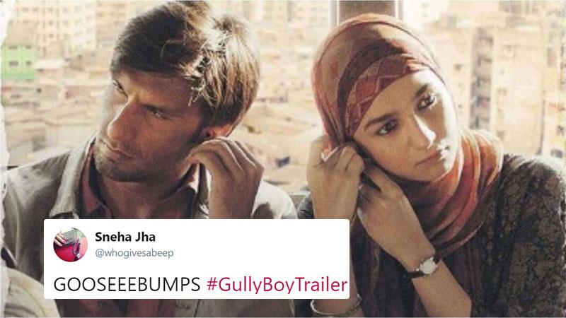 Gully Boy Trailer Twitter reactions