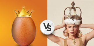 Egg gang vs Kylie Jenner