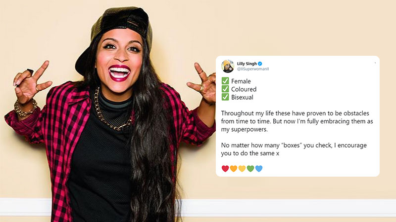 Lilly singh bisexual