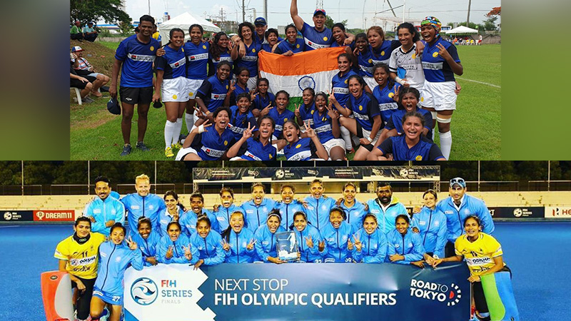 Indian women sports team