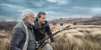 Bear Grylls and PM Narendra Modi