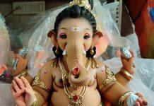 Eco-Friendly Ganpati Idol