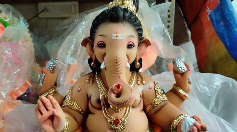 Eco-Friendly Ganpati Idol
