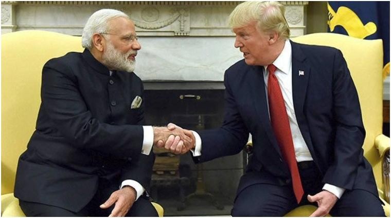 Narendra Modi and Donald Trump
