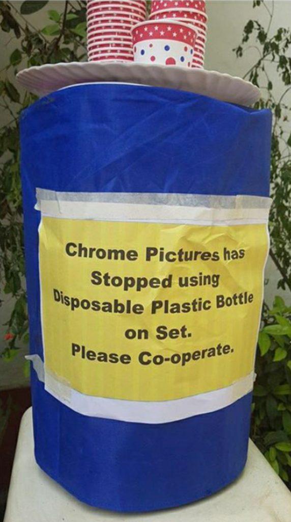 No Plastic policy