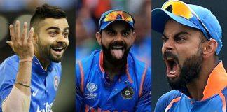 Virat Kholi expressions