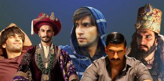 9 characters played by Ranveer Singh