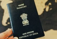 lotus on Indian passports