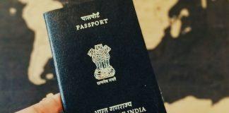lotus on Indian passports