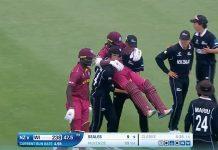 New Zealand helped West Indies