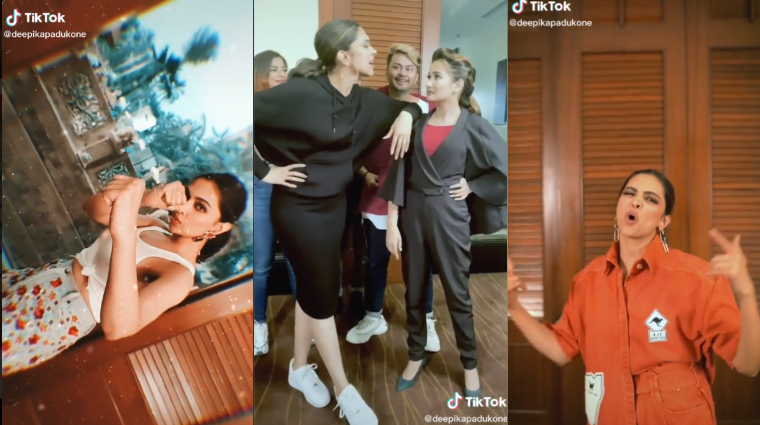 Deepika Padukone debuts on TikTok