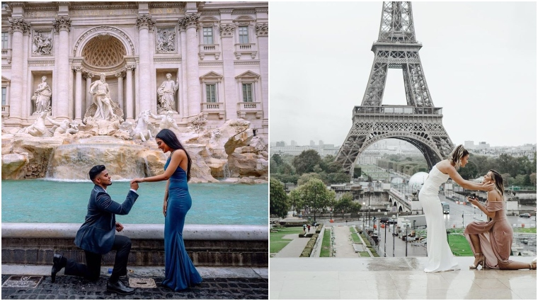 romantic places to propose