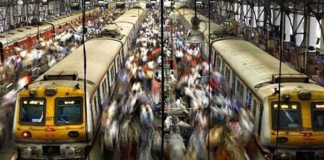 local train journey