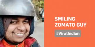 smiling Zomato guy