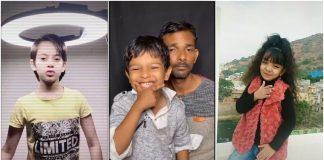 Indian kid TikTokers