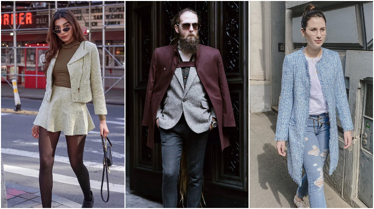 tweed outfit inspirations