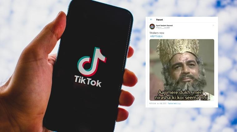 #RIPTikTok memes