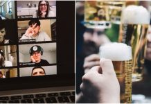 virtual beer party