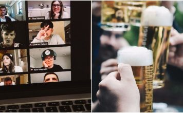 virtual beer party