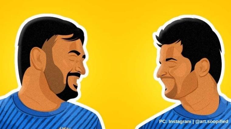 Dhoni and Suresh