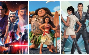 animated movies and shows