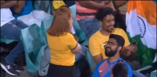 proposal during Ind-Aus match