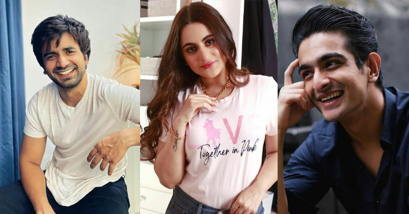 Picturing creators as popular Bollywood love triangles