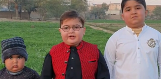 """Peeche toh Dekho"" kid and his brother"