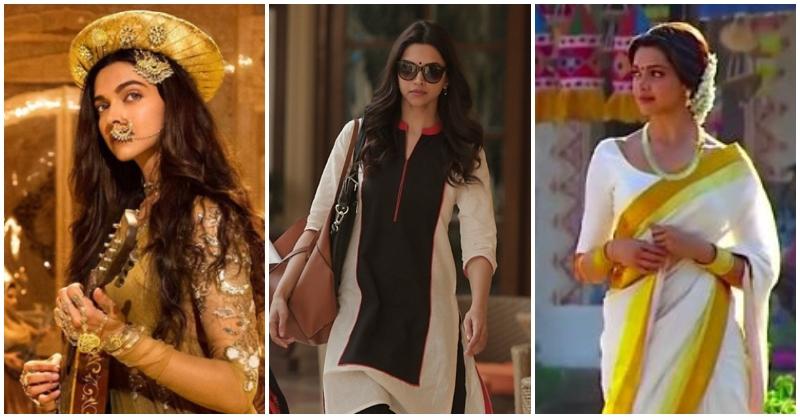 Deepika Padukone's famous looks