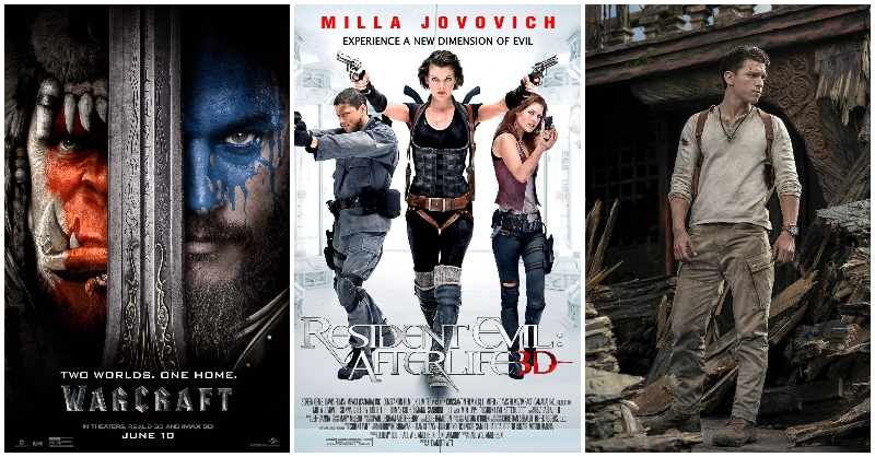 video games based movies
