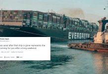 Suez Canal ship