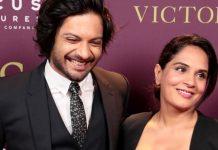 Richa Chadha and Ali Fazal