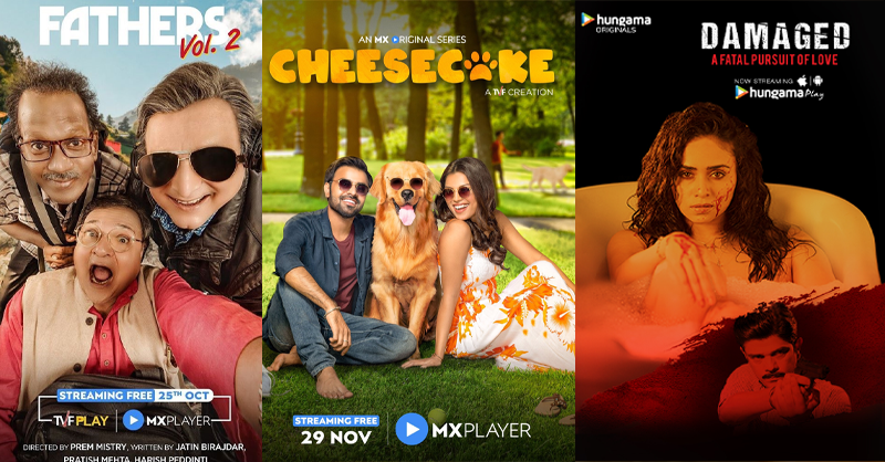 Shows on MX Player