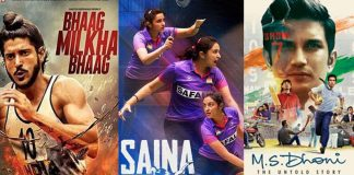 Indian sports biopics