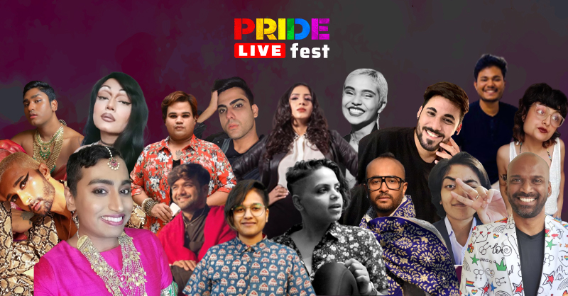 performers of Pride Live Fest '21