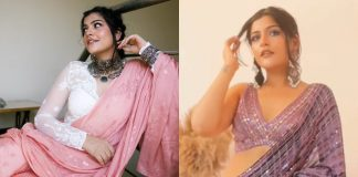 Kritika Khurana's 10 days saree