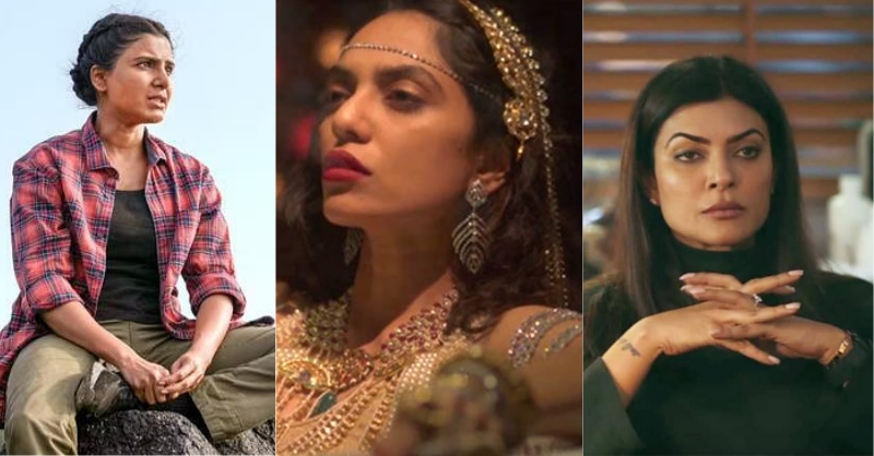 strong female characters in Indian web series