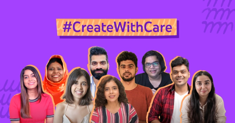 #CreateWithCare